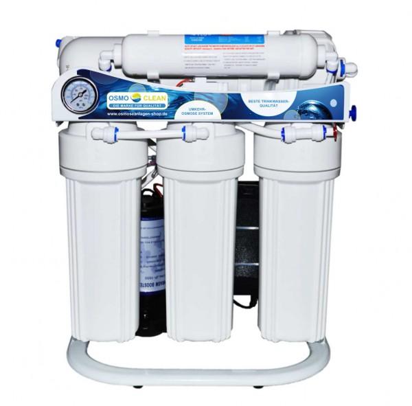 """800 GPD Osmoseanlage 1:2 """"Commercial"""" 2800-3200 Liter Tagesleistung 12 Stunden Laufzeit"""