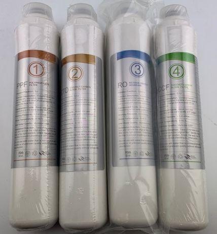 Ersatzfilterset für Auftischanlage Elegance 3.0 + Membrane