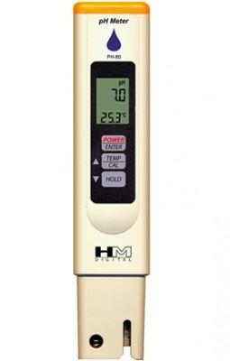 HM PH 80 PH Wert und Temperatur