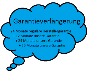 Garantieverlängerung für Osmoseanlage ab Kauf für 60 Monate (5 Jahre)