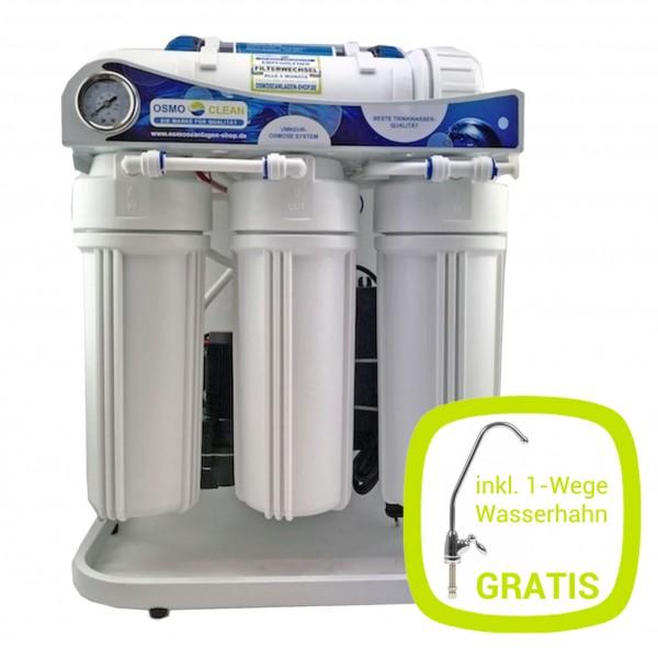 Osmoseanlage 600 GPD Commercial brushless - 12 Stunden Dauerbetrieb