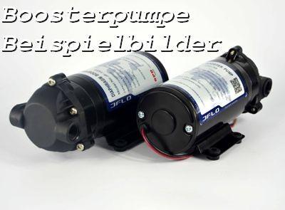 Druckerhöhungspumpe / Boosterpumpe 24 V, 1,8 A - ca. 135 L/Std. JFLO-1250 Interwall kann 4 Stunden a