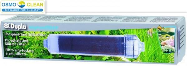 Dupla Siliphosfilter Filtergehäuse mit 500 ml Siliphos Anschlussfertig gefüllt