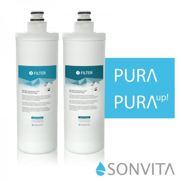 Ersatzfilterset für Sonvita PURA Auf- oder Untertisch Osmoseanlage